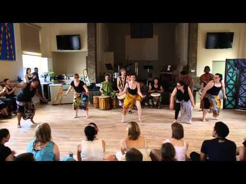 African Dancing - Cabaret, 2013 Summer Solstice Lindy Exchange