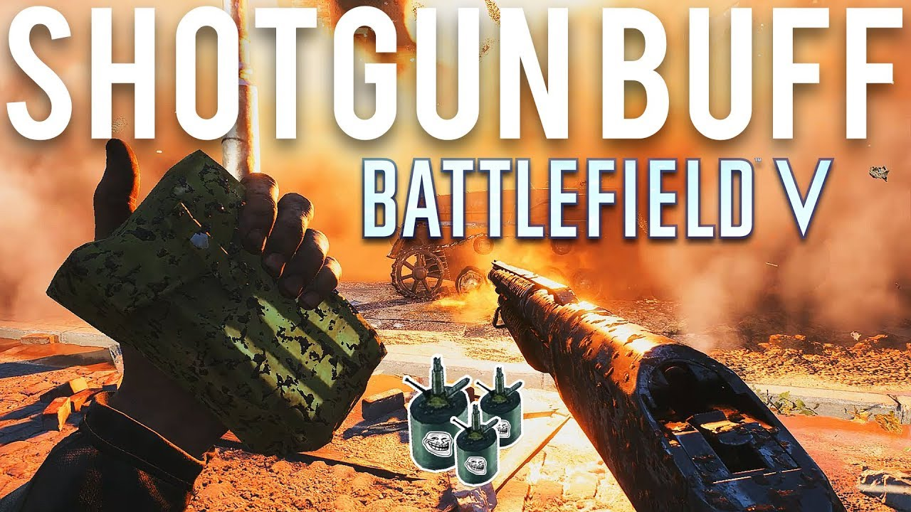 Battlefield 5 Shotgun Buff + video