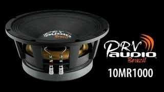 prv audio new 10mr1000 high power 10 midrange pro audio loudspeaker woofer namm 2013