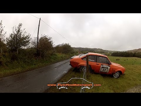 Donegal Harvest Rally 2017 (Flyin Finn Motorsport) Irish Rally action