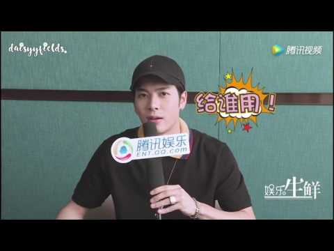 [ENG] 170809 GOT7 Jackson interview with Yu Le Sheng Xian 娱乐生鲜