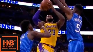 Los Angeles Lakers vs Orlando Magic 1st Half Highlights | 11.17.2018, NBA Season
