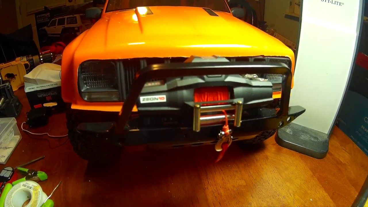 Axial SCX10 II With Mods Next round of updates Winch / Bumper ...