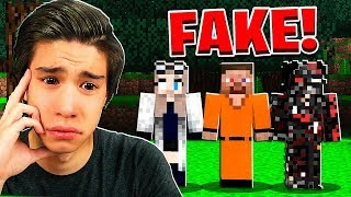 THE TEST STEVE WORLD IS FAKE! (Scary Survival EP59)