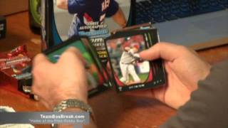 Triple Baseball Box Break 2011 Triple Threads 2011 Bowman Jumbo (hta) 2011 Topps Marquee