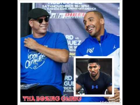 Virgil Hunter wants Andre Ward vs Anthony Joshua!!!