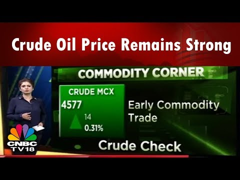Crude Oil Price Remains Strong | Commodity Corner | 26th Apr | CNBC TV18