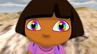 Dora has SUPERPOWERS