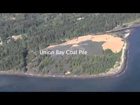 Union Bay Coal Piles - Most Contaminated Site On Vancouver Island