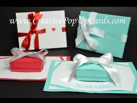 Gift Box Pop Up Card Tutorial