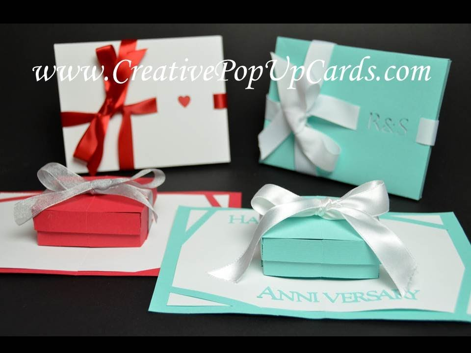 how to make a pop up christmas card present