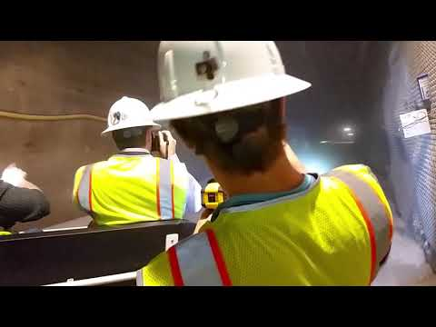Inside the Waste Isolation Pilot Plant (WIPP)