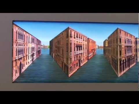 Vibrant Venice  Patrick Hughes, Winsor Gallery PERSPECTIVARIATIONS
