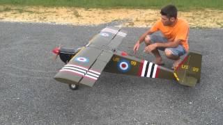 Aeromodelo segunda Guerra mundial, Mutley Giant com 2,9 m de asa thumbnail