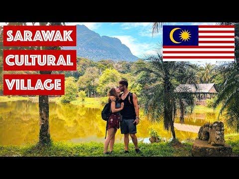 SARAWAK CULTURAL VILLAGE AND DAMAI BEACH || TRAVEL MALAYSIA