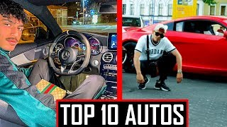 🔴 DIE LUXUS AUTOS VON DEUTSCH RAPPERN | TOP 10 🔴 Mero Capital Bra