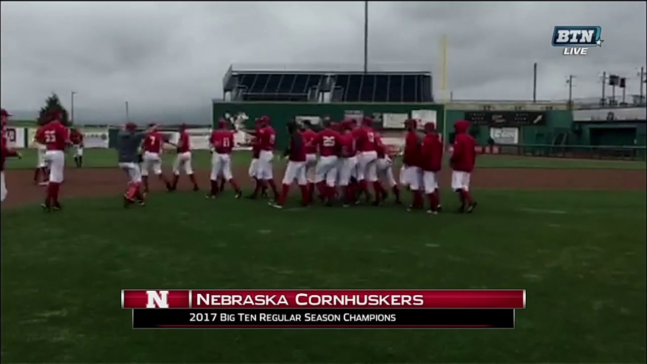 2017 Regular Season Champion: Nebraska Cornhuskers Win 2017 Big Ten Regular Season