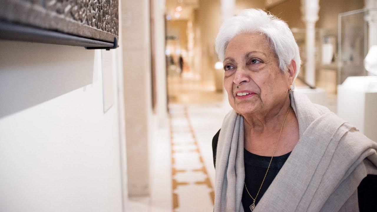 The Artist Project: Zarina Hashmi