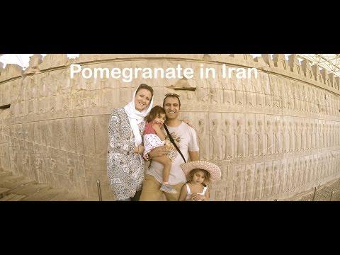 Travel to Iran -  Pomegranate in Iran