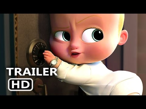 "Thumbnail: THE BΟSS BАBY ""There's Only ONE Boss !"" Clip + Trailer (2017) Animation Movie HD"