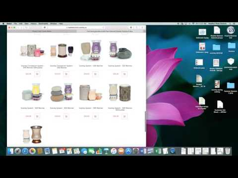 NEW Scentsy consultant using workstation