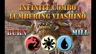 Infinite Combo | Viashino Battlement MTG Deck Tech