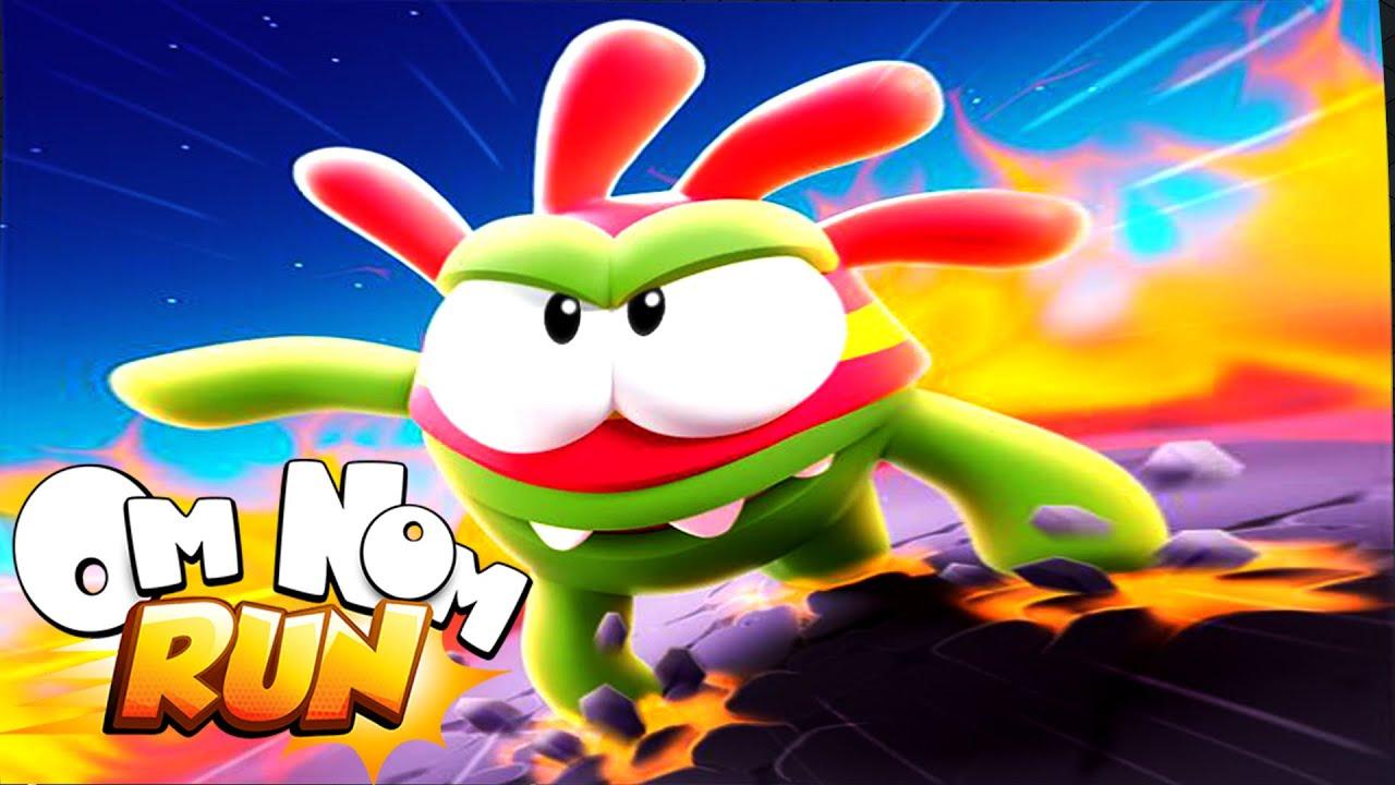 om nom run | om nom run game | Super nom reach top and run mission 78 - 79