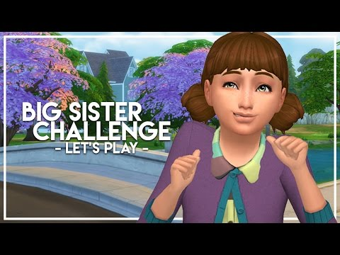 ORPHANED // The Sims 4: Big Sister Challenge #1