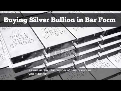 Silver Bars: Buying Silver Bullion in Bar Form