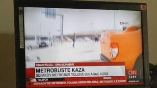Sefa Köyde Metrobüs Kazası