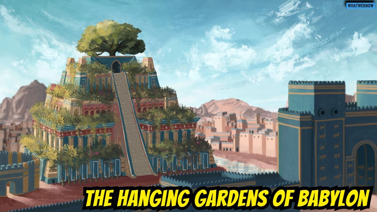The Hanging Gardens Of Babylon : Seven Wonders of the Ancient World