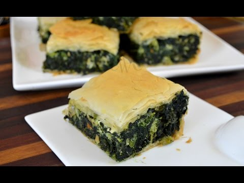 Spanakopita |Greek Spinach Pie Recipe | How to Use Phyllo Pastry Sheets |Cooking With Carolyn