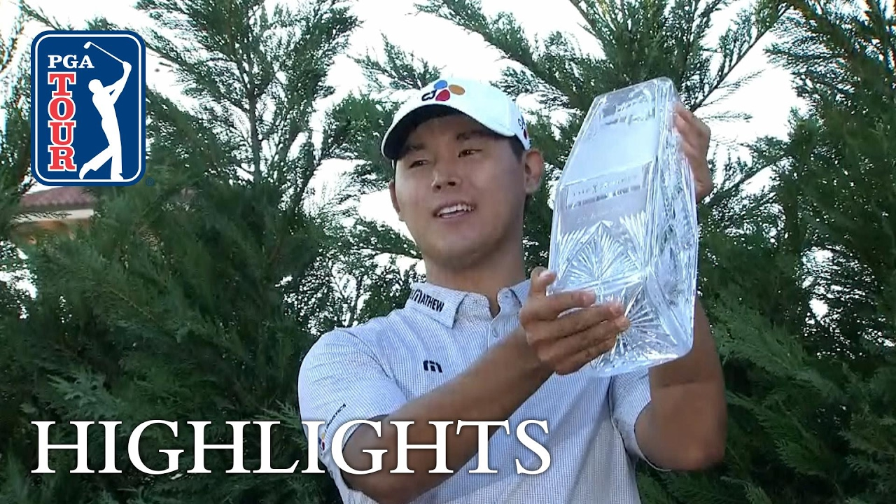 Si Woo Kim keeps his cool and wins Players Championship