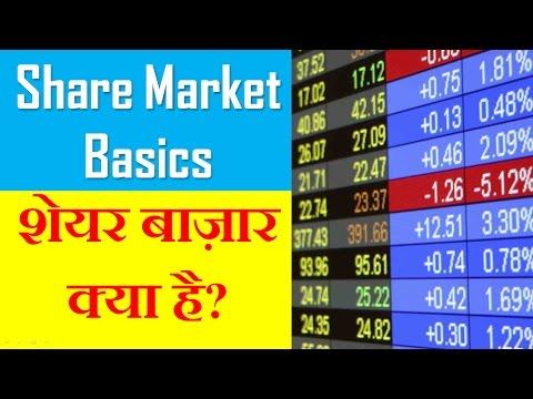 शेयर बाज़ार क्या है ? - What is Share Market in Hindi