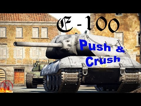 War Thunder || E-100 - Pushing and Crushing [7 Kills -  RB]