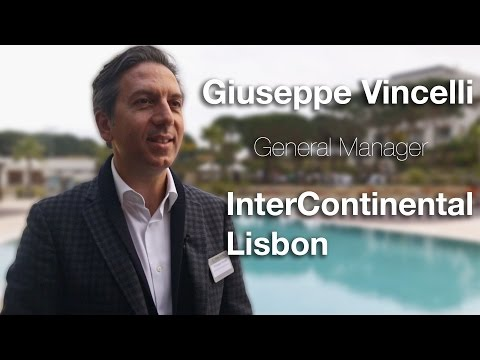 Connections Leaders TV Interview, Giuseppe Vincelli, InterContinental Hotels