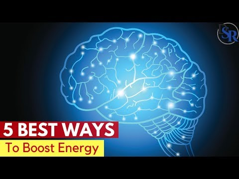 �� 5 Best Ways To Boost Your Energy Levels, Physically & Mentally by Dr Sam Robbins