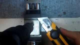 видео Реболлинг и пайка чипов с BGA подошвой
