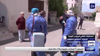 7 إصابات جديدة بفيروس كورونا في الأردن الاثنين -1/6/2020