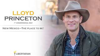 Libertarian Lloyd Princeton Announces Run for Congress | New Mexico