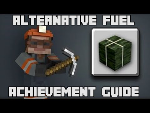 Minecraft - Alternative Fuel Achievement Guide