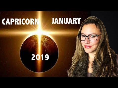 CAPRICORN January 2019. ECLIPSE Triggers POWERFUL NEW BEGINNINGS and FATED EVENTS which REDEFINE U!