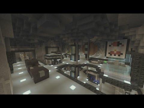 Minecraft Gotham City: Batcave