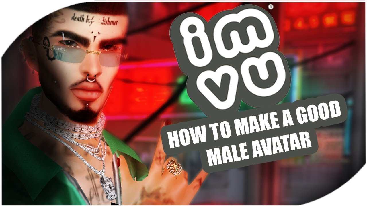 IMVU | HOW TO MAKE A GOOD MALE AVI (My opinion)