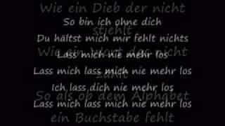 Sportfreunde Stiller - Lass mich nie mehr los (Lyrics)