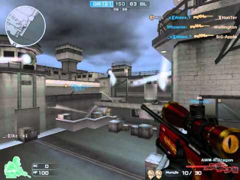 AWM-Red Dragon - Crossfire AL (Jogando/Gameplay) - YouTube