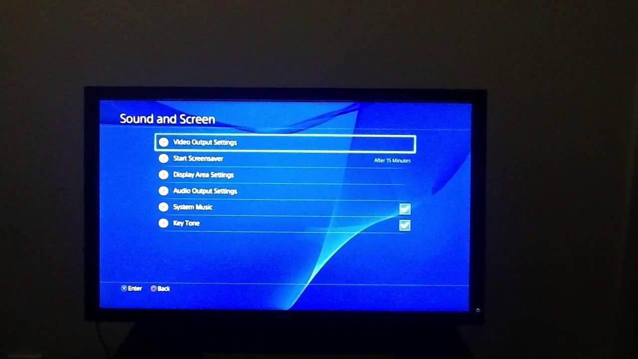 PS4 RGB SETTINGS - Please read video description below