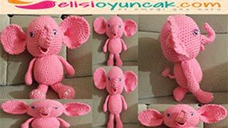 Amigurumi free pattern şirin bir oyuncak fil nasıl yapılır?