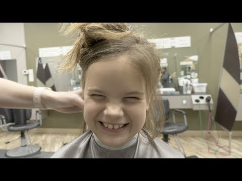SAD AT GREAT CLIPS | NOT THE HAIRCUT SHE WANTED | WIGS FOR KIDS