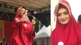 Puja Syarma Aceh Terbaru tampil di Final Lomba Qasidah Tk Nasional di Padang Zurna Makkah